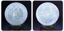 Load image into Gallery viewer, Customised Moon Light
