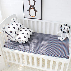 Dots 3Pcs Baby Bedding Set - 100% cotton
