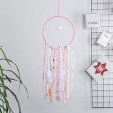 Load image into Gallery viewer, Shell Pink Dream Catcher