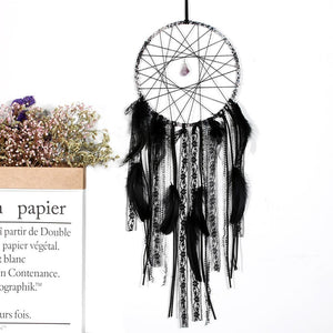 Mystical Black Dream Catcher