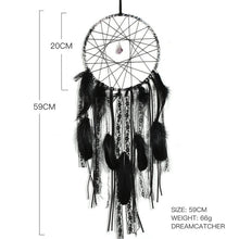 Load image into Gallery viewer, Mystical Black Dream Catcher