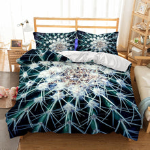 Load image into Gallery viewer, Spike Cactus Duvet Cover Set
