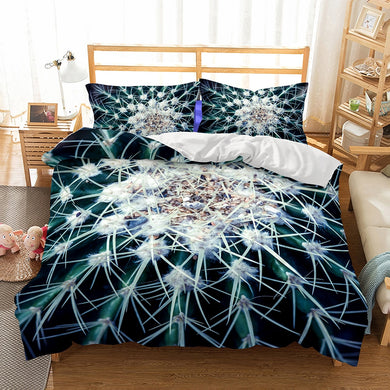 Spike Cactus Duvet Cover Set