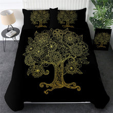 Load image into Gallery viewer, Customised Tree of Life Bedding Set