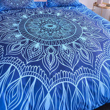 Load image into Gallery viewer, Luxury Mandala Bedding Set - Sky High