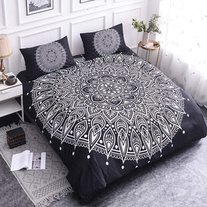 Luxury Mandala Bedding Set - Dark Light