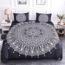 Load image into Gallery viewer, Luxury Mandala Bedding Set - Dark Light