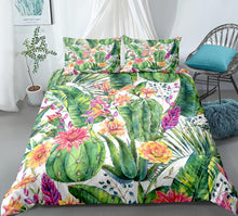 Load image into Gallery viewer, Cactus Bedding set - Bali