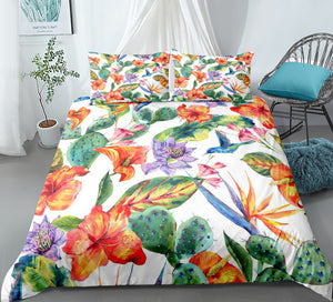 Cactus Bedding set - Hawaii