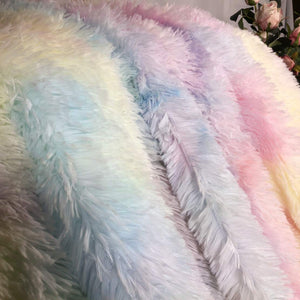 EXPRESS POST  Newcastle Stock - Rainbow Fluffy Blanket