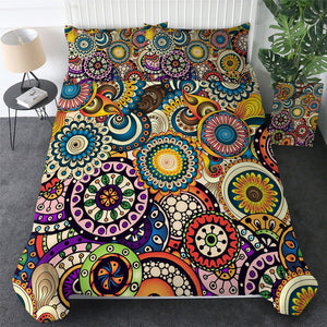 Customised Mandala Quilt Cover Set - Various Styles
