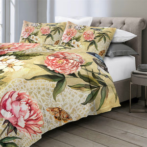 Customised Flowers Quilt Cover Set - Various Styles