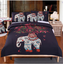 Load image into Gallery viewer, Bohemian Elephant Bed Set