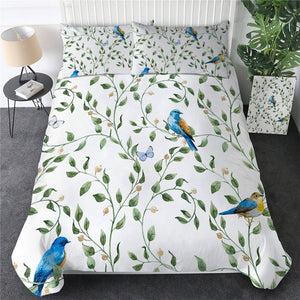 Customised Birds Quilt Cover Set - Various Styles
