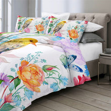 Load image into Gallery viewer, Customised Birds Quilt Cover Set - Various Styles