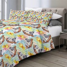 Load image into Gallery viewer, Customised Koala Quilt Cover Set