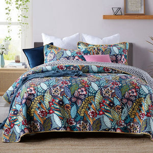 Cotton Bedspread Set 3pcs Taiani