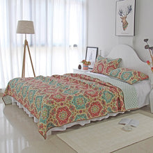 Load image into Gallery viewer, Bedspread Set 3pcs Ivy