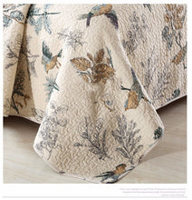 Load image into Gallery viewer, Bedspread Set 3pcs Birds in Paradise
