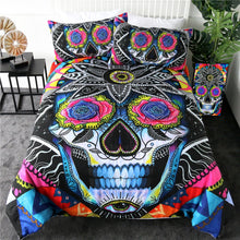 Load image into Gallery viewer, Customised Sugar Skull by Pixie Quilt Cover Set