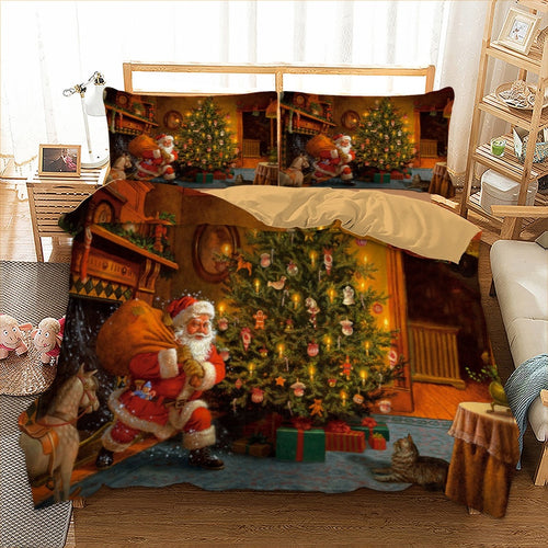 Christmas Tree Quilt cover Set