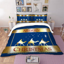Load image into Gallery viewer, Christmas Tree Quilt cover Set