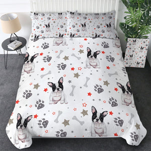 Customised French Bulldog Quilt Cover Set - Various Styles