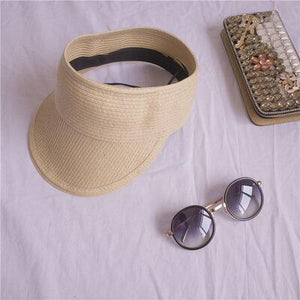Visor Straw Hat