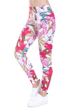 Load image into Gallery viewer, Paradise flower Printed leggings