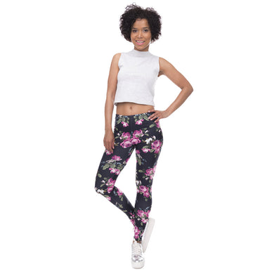 Retro Roses Leggings