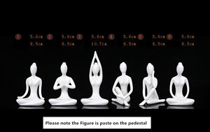 Ceramic Yoga Girl Burner - 1Pc Burner + 30 Pcs cones