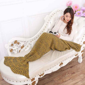Mermaid Tail Blanket Extra Large -  195x95cm - 15 Colours