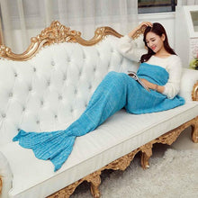 Load image into Gallery viewer, Mermaid Tail Blanket Extra Large -  195x95cm - 15 Colours