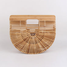 Load image into Gallery viewer, Bamboo Weave Handbag