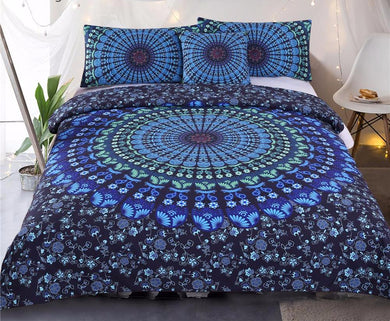 Luxury Mandala Bed Set 4Pcs