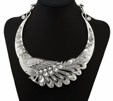 Load image into Gallery viewer, Peacock Necklace