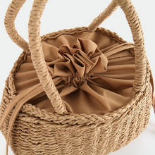 Load image into Gallery viewer, Handmade Woven Bucket Basket