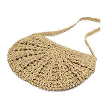 Load image into Gallery viewer, Circular Crochet Bag