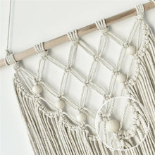 Load image into Gallery viewer, Bead Macrame Wall Hanging
