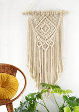 Load image into Gallery viewer, Macrame Wall Hanging Retangle
