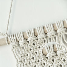 Load image into Gallery viewer, Macrame Wall Hanging Triangles