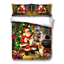 Load image into Gallery viewer, Christmas Bedding Set