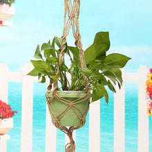 Load image into Gallery viewer, Jute Macrame Plant Hanger