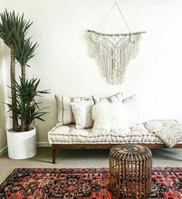 Load image into Gallery viewer, Macrame Hanging Wall Precious Stones