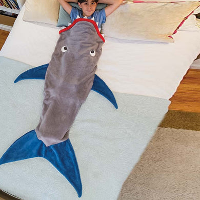 Kids Shark Blanket Sleeping Bag