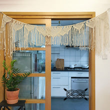 Load image into Gallery viewer, Macrame Door Curtain