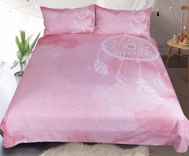 Pink Dreamcatcher Bed Set
