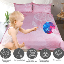 Load image into Gallery viewer, Pink Dreamcatcher Bed Set