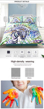 Load image into Gallery viewer, Zebra Premium Bed Set