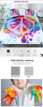 Load image into Gallery viewer, Watercolor Butterfly Bed Set